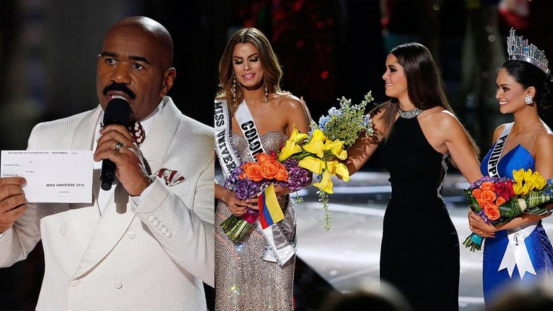 Respected TV Host Causes Outrage at Miss Universe Pageant