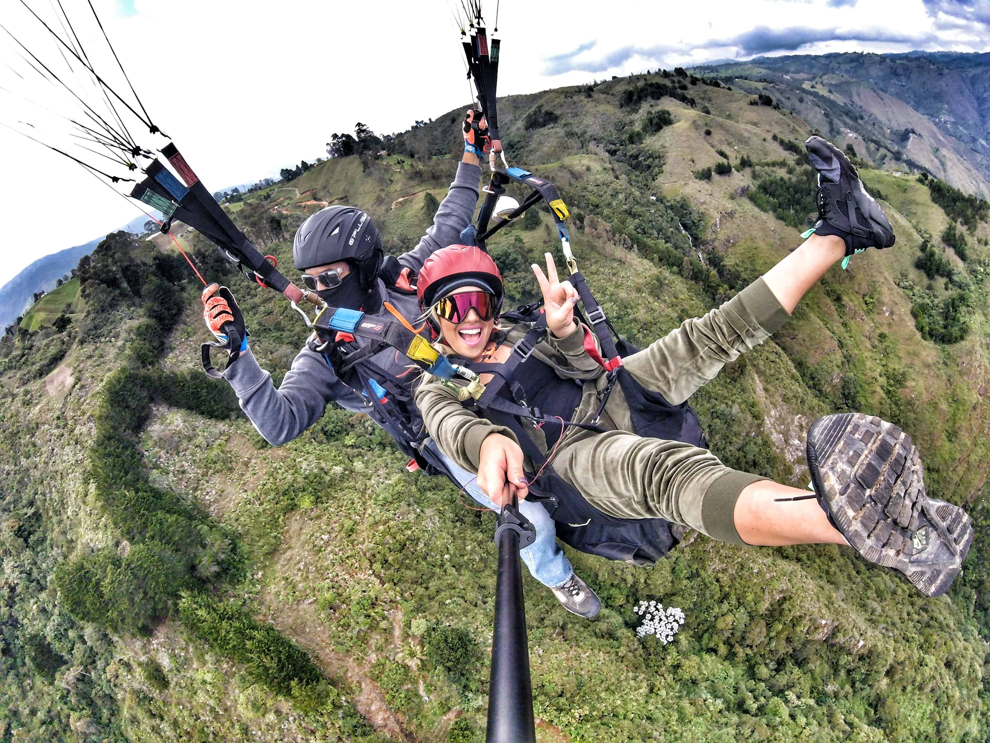 Paragliding in Medellin : An Exhilarating Experience