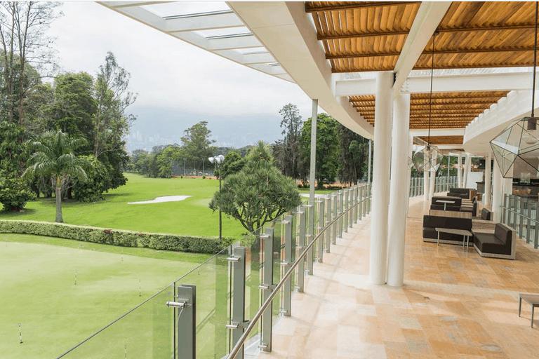 Golfing in Medellin